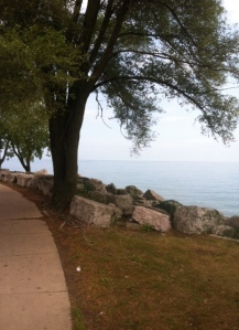 Lake Michigan - what a great view!